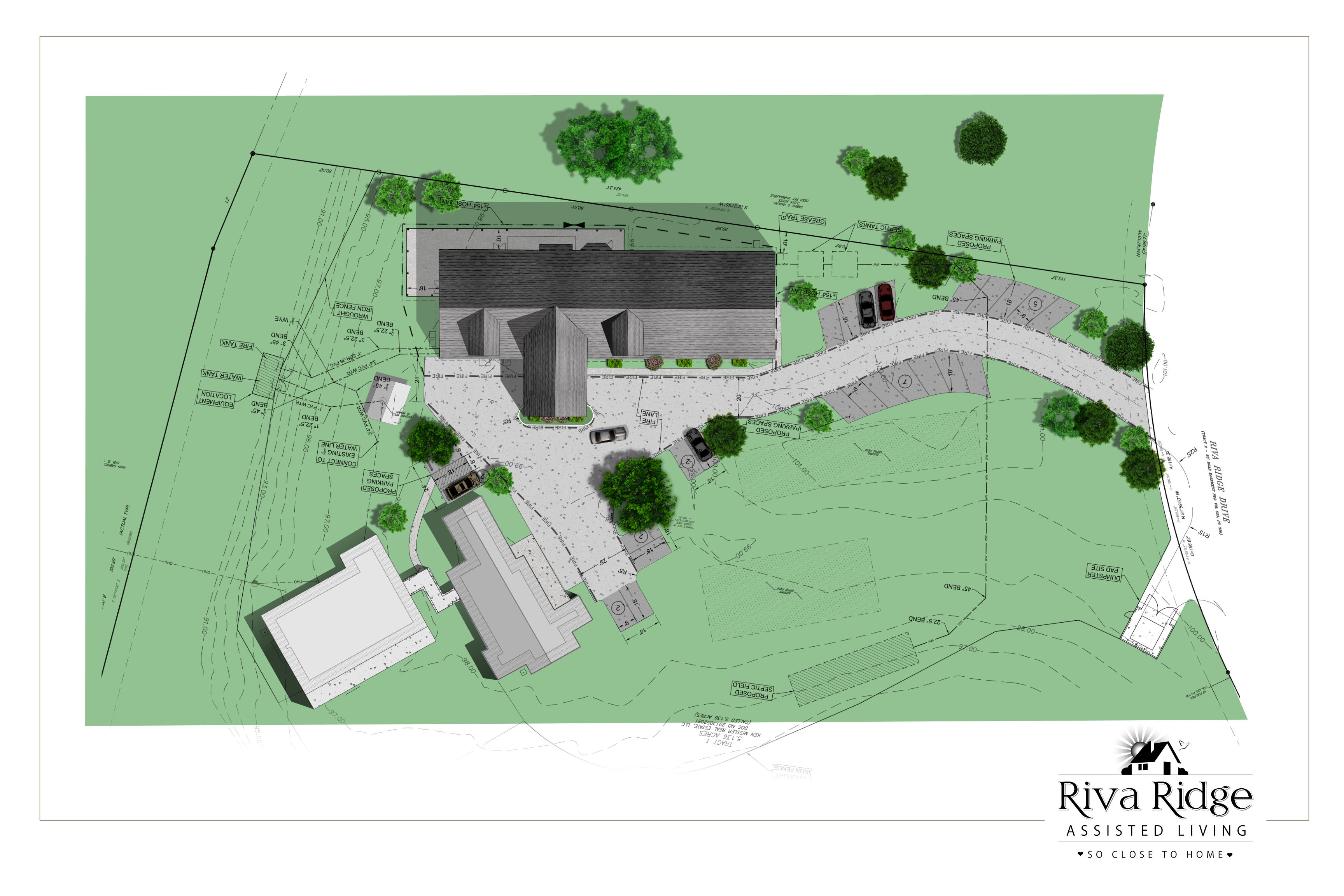 Riva Ridge Assisted Living Site Plan