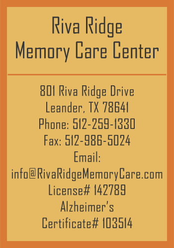 Riva Ridge Memory Center Information